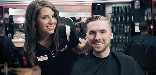 Sport Clips Haircuts of Greatwood/River Park​ stylist hair cut